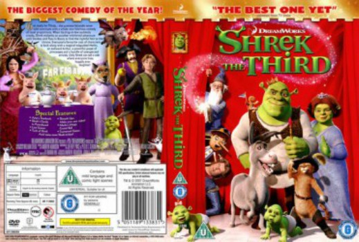 68 Shrek The Third 2007