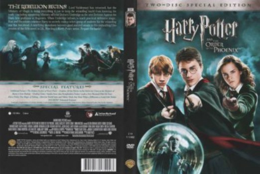 205 Harry Potter And The Order Of The Phoenix 2007