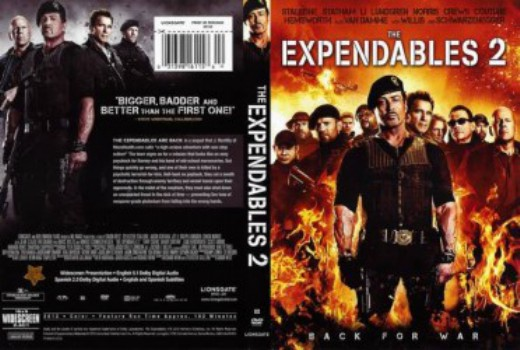 667 The Expendables 2 2012